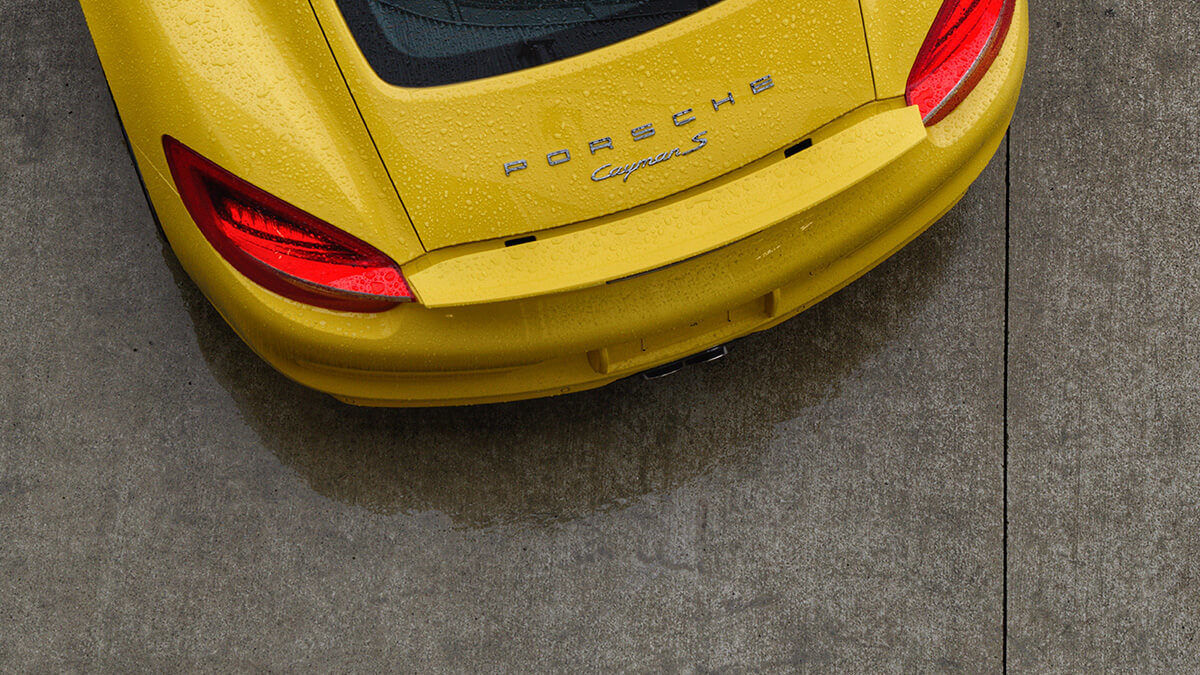 Porsche Cayman Re-style Is On The Way